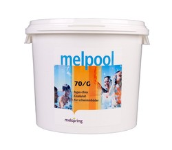 Melspring Melpool 70/G-45 Гипохлорит кальция 45 кг гранулы быстрорастворимый